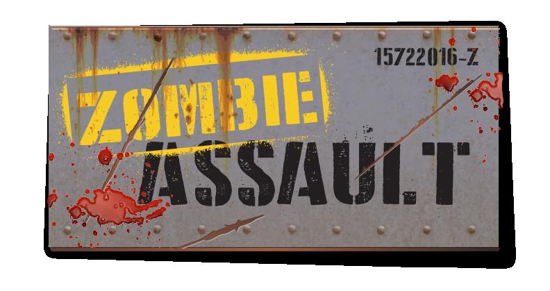 Zombie Assault Attraction Logo